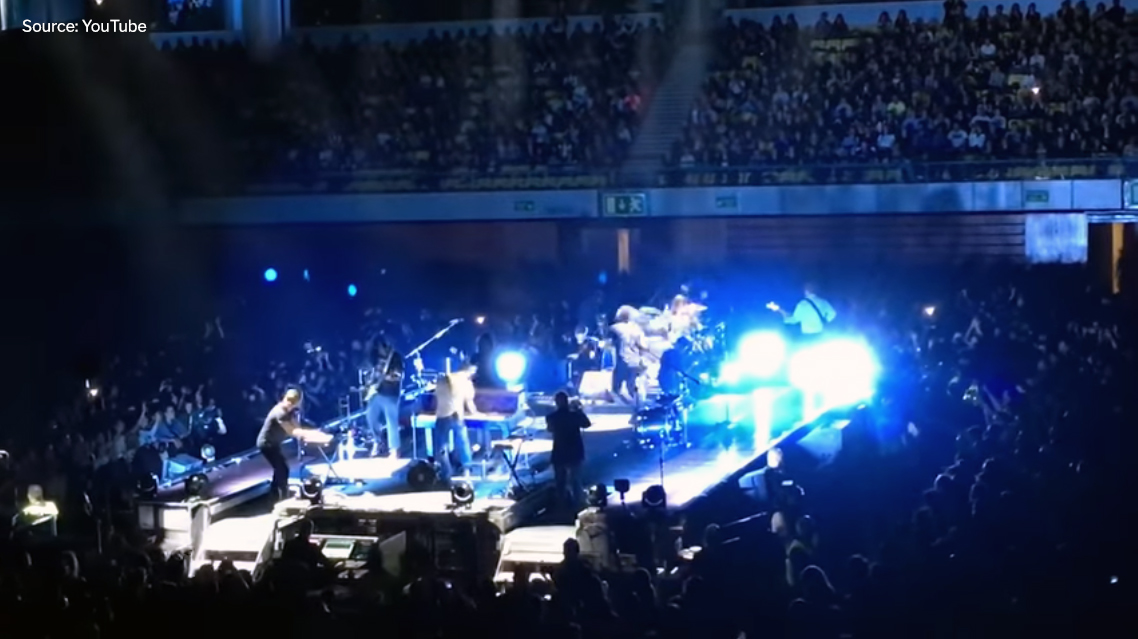 "Video: Watch Gang of Youths join Mumford & Sons to cover The Middle East's ""Blood"""